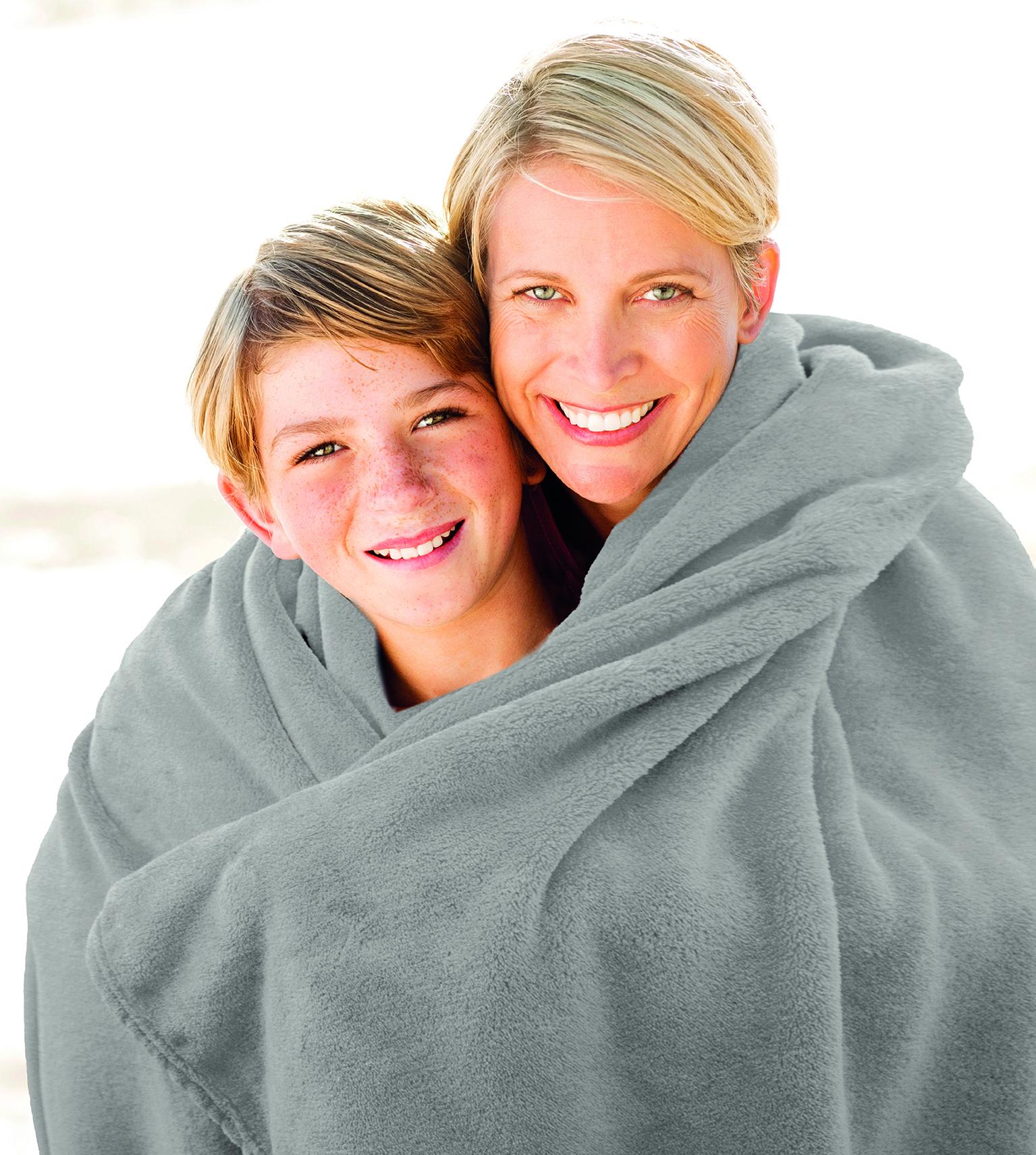 Blankets Premium 150x200 silver grey