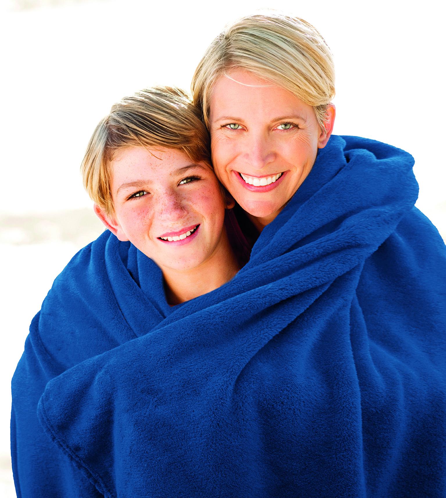 Blankets Premium 150x200 navy blue