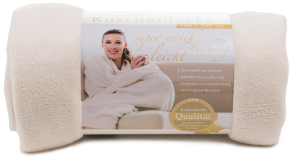 Blankets Light 150x200 cream