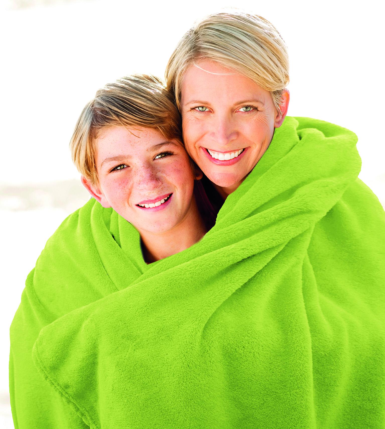 Blankets Premium 150x200 green