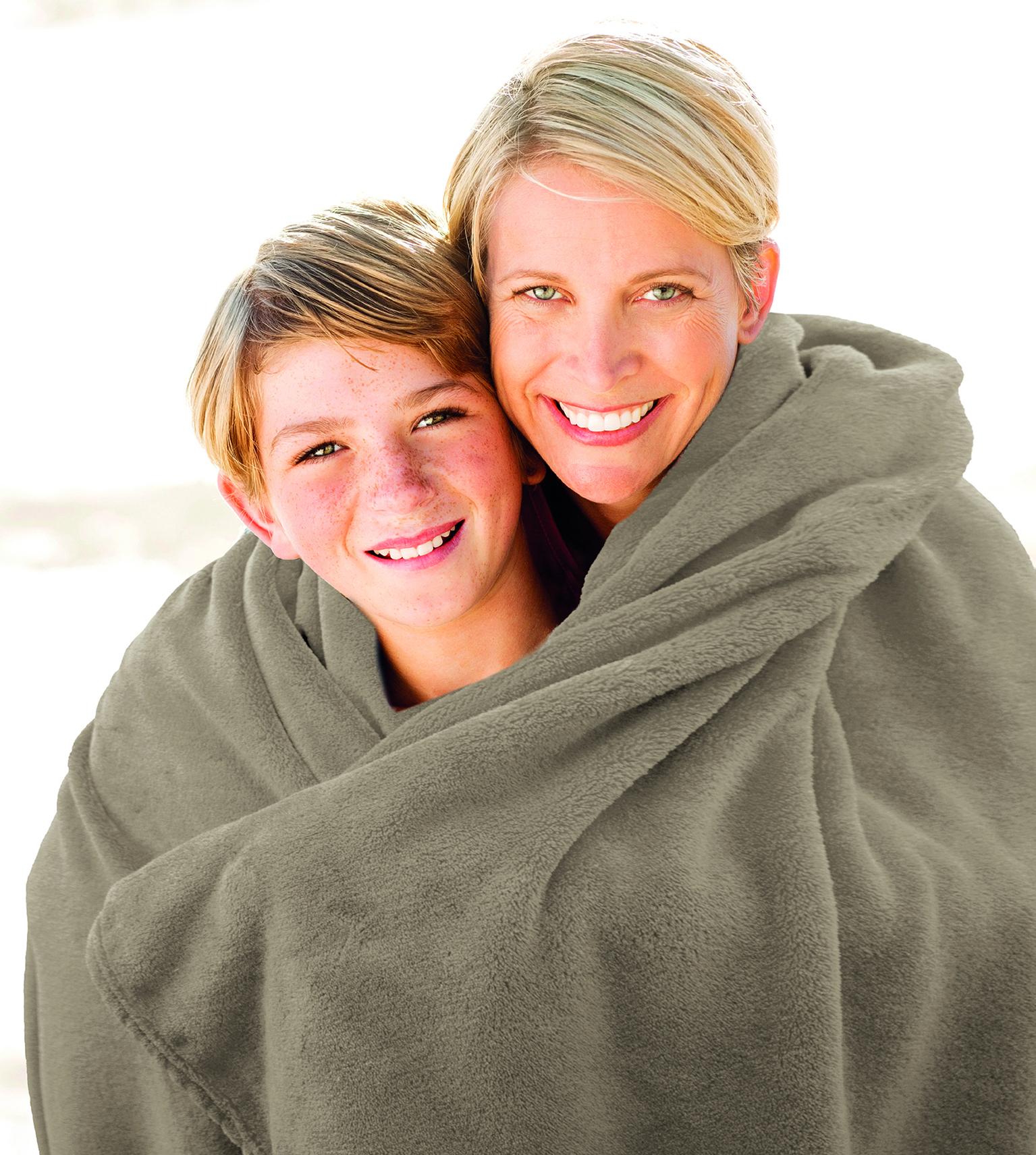 Blankets Premium 150x200 taupe