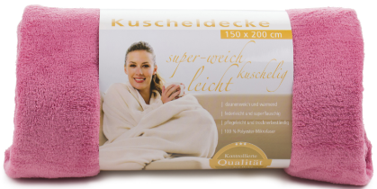 Blankets Light 150x200 dusky pink