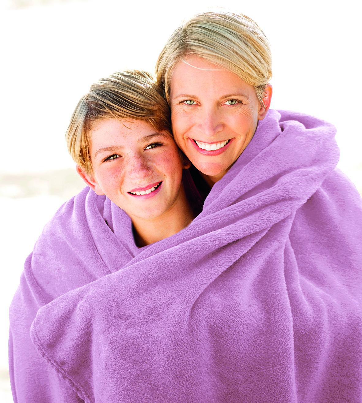 Blankets Premium 150x200 dusky pink