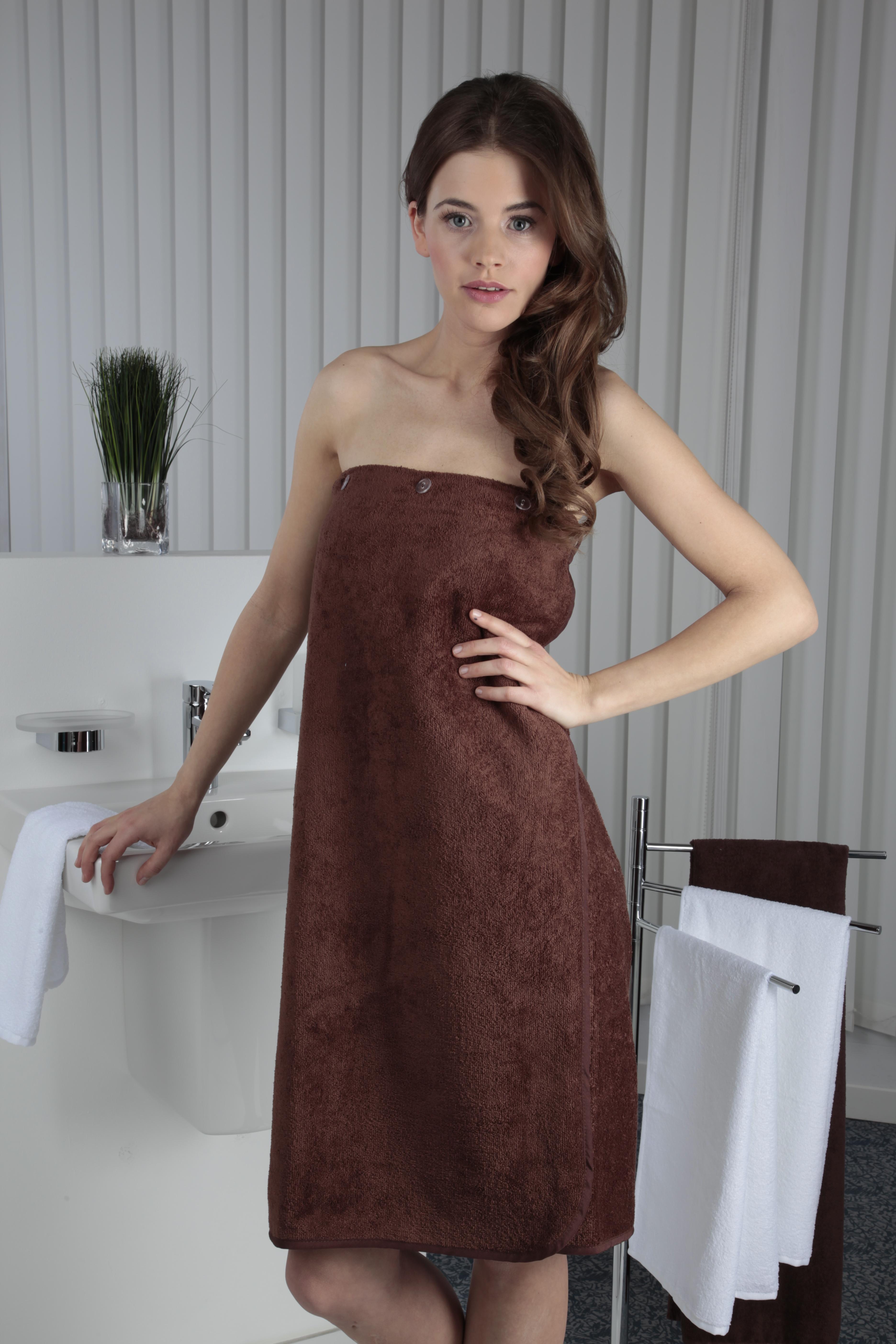 Sauna Kilts 80x136 brown